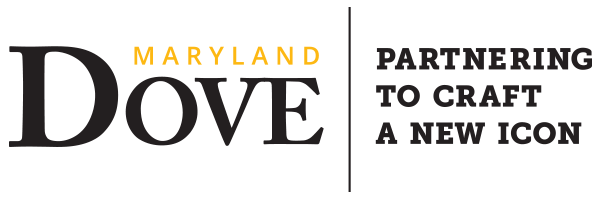 Logo for the Maryland Dove; Partnering to Craft a New Icon